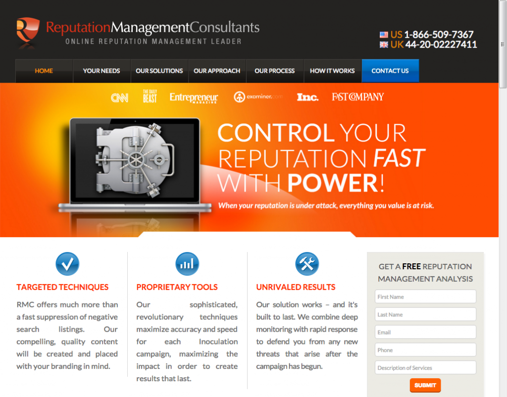 Reputation Management Consultants
